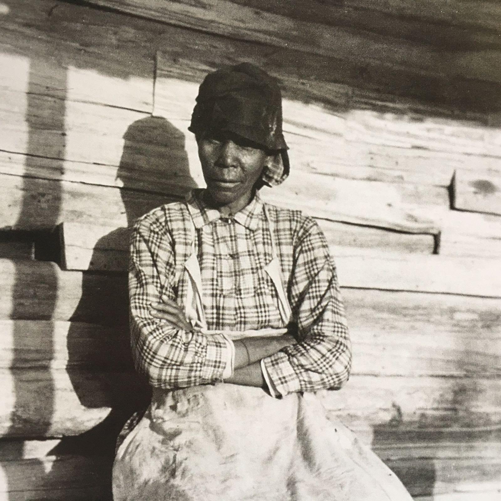 Sally Miller, Quiltmaker   Gee's Bend Alabama   US