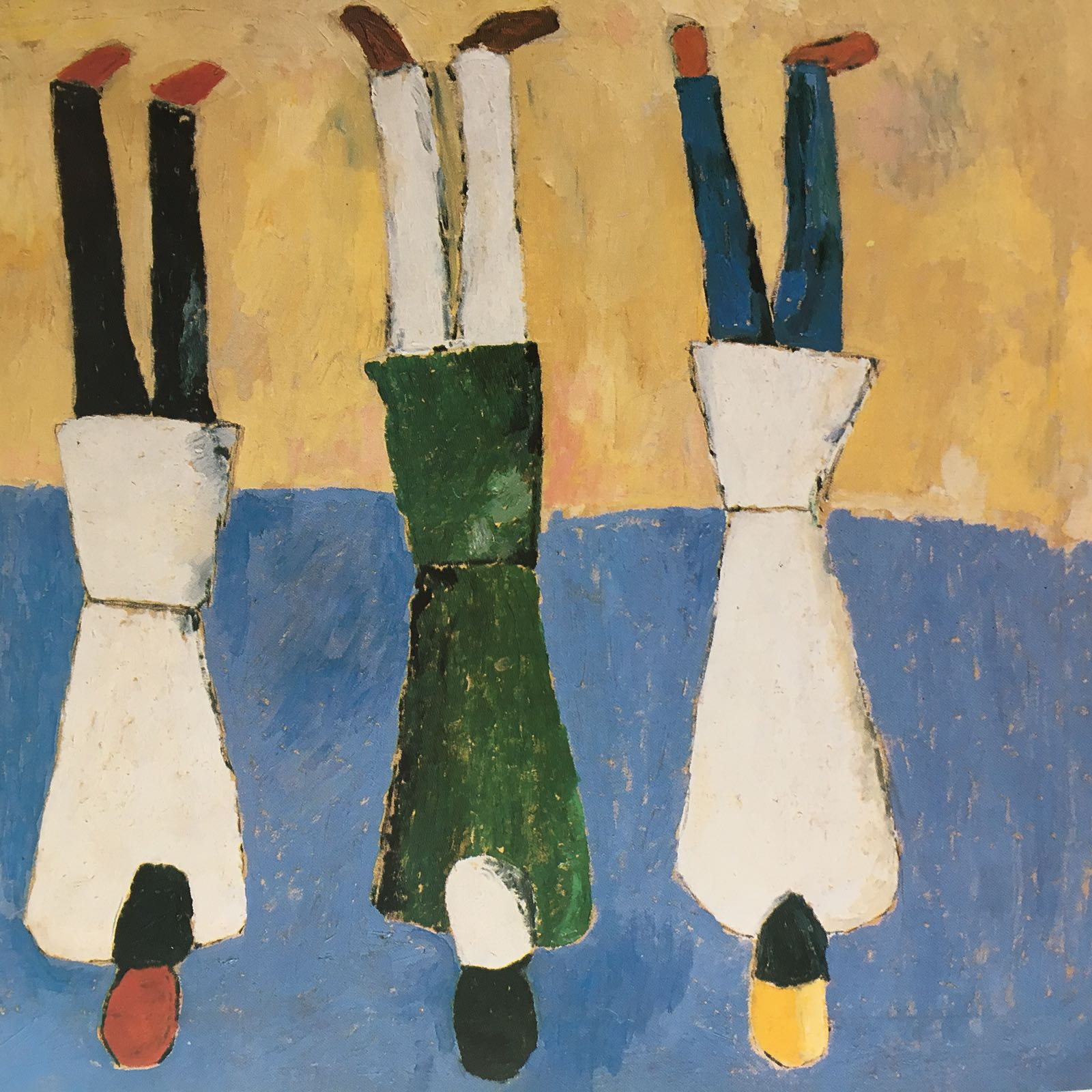 'Peasants' by Malevich