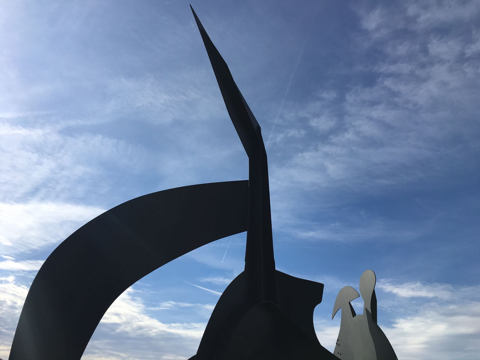 Calder meets the clouds | Storm King | NY