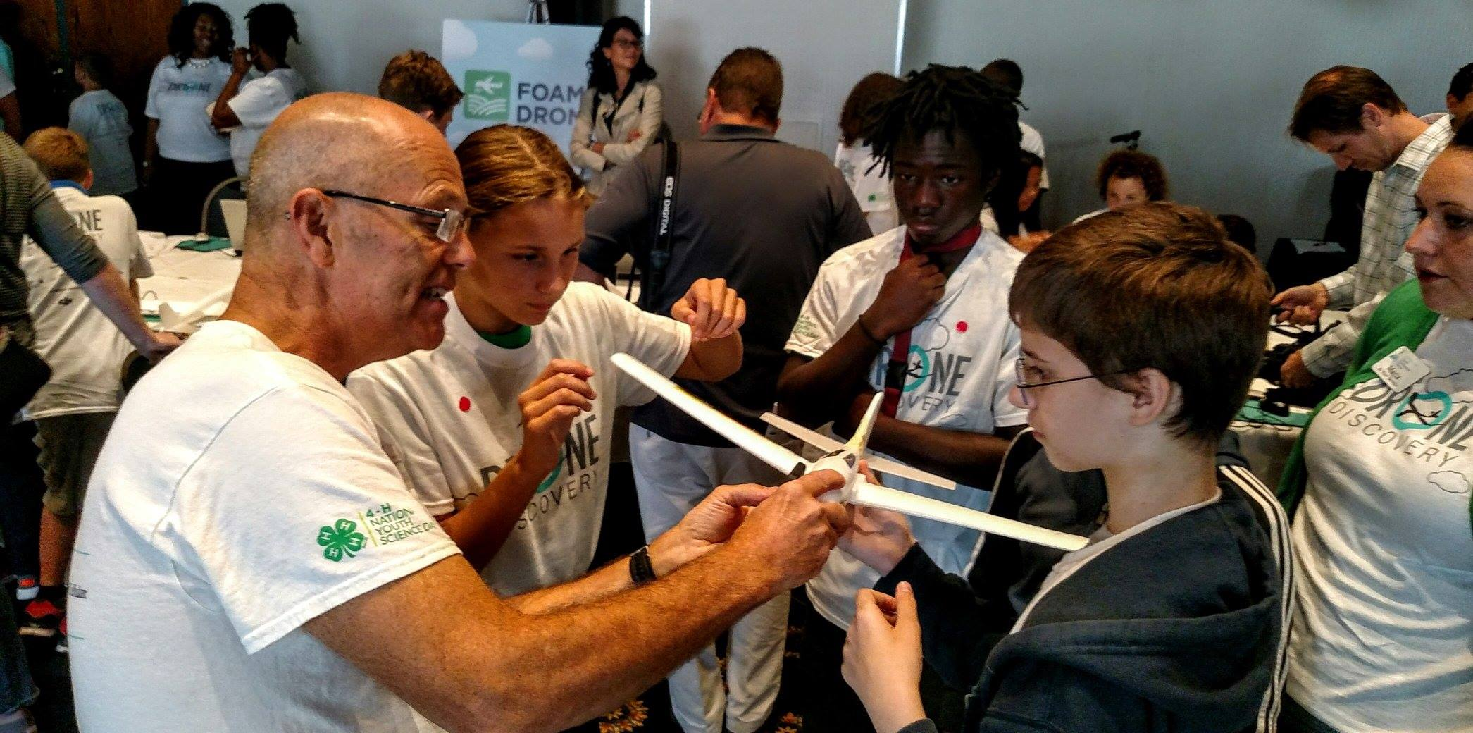NYS 4-H's Chip Malone is in Washington D.C. engaging the next generation in Drone Discovery.