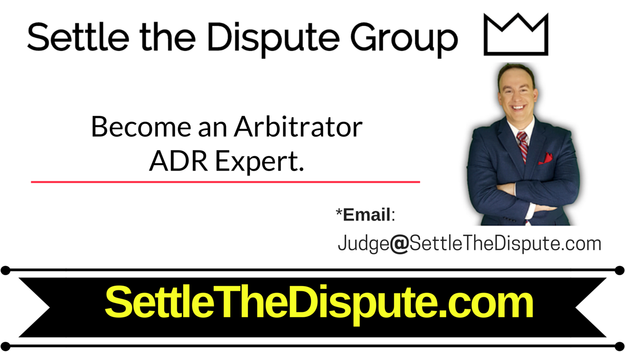 Top 5 Ways to Become an Arbitrator - Arbitration Expert (ADR)