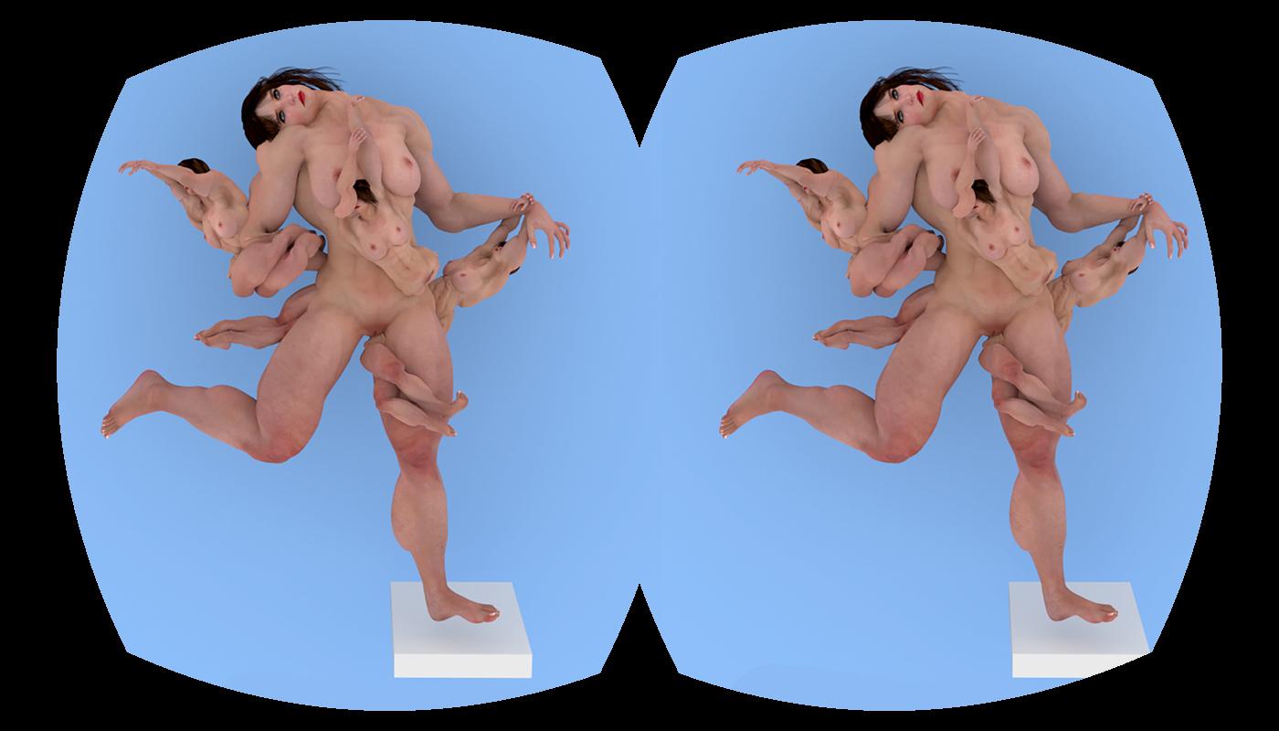 Martina Petrelli, Ongoing Artistic Research,  Untitled#MIDORI, 3D Rendering