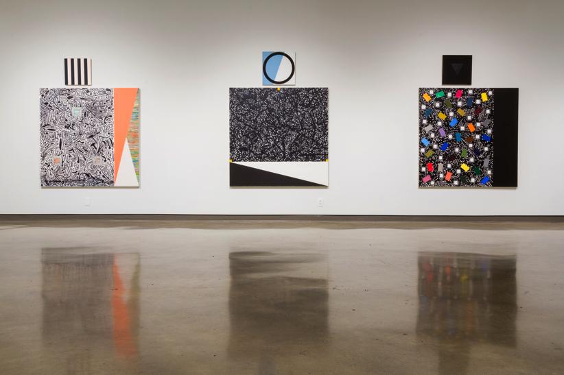 Close Listening, detail: Eli Bornowsky, 2015, installation view, Richmond Art Gallery, British Columbia, Canada.