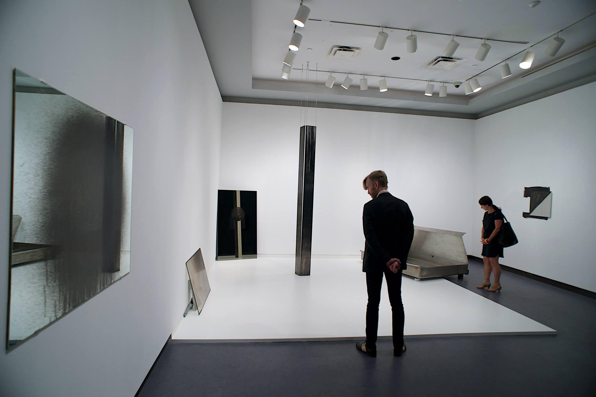 Close Listening, detail: Jinny Yu, 2014, installation view, Ottawa Art Gallery, Ontario, Canada. Photo: David Barbour