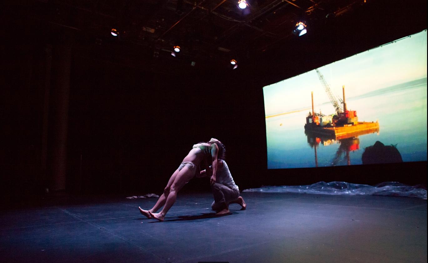 Sook-Yin Lee, How Can I Forget?, 2013, live performance still, Academic Hall Theatre, University of Ottawa, Ontario, Canada. Photo: Olivia Johnson