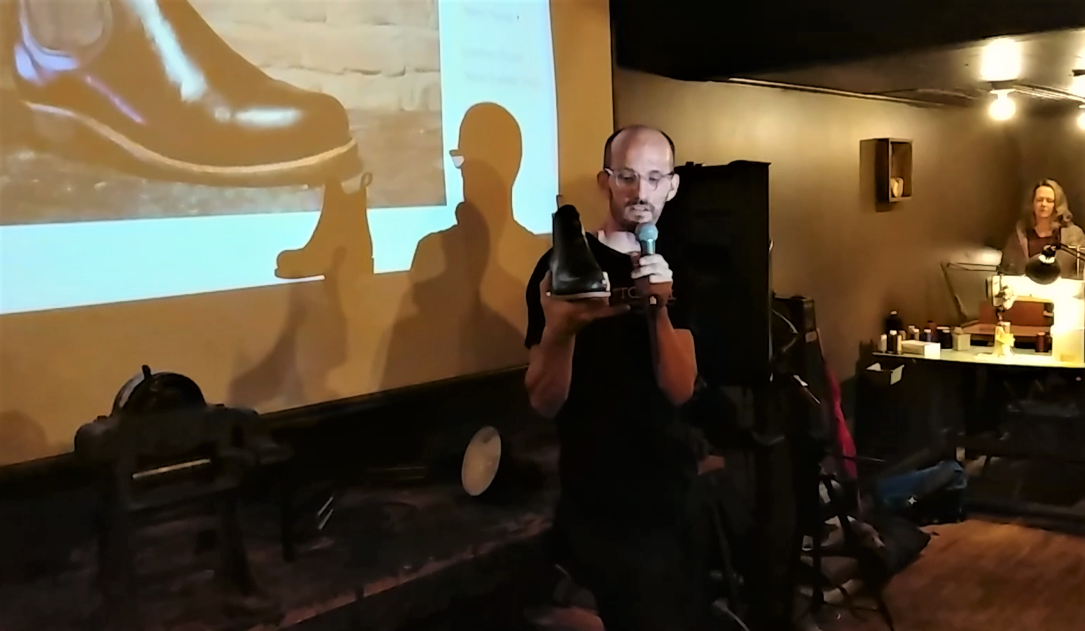 Launch Night, Oct 11th - Tim Talks about the new Bishop boot and the vision for Sutorial.