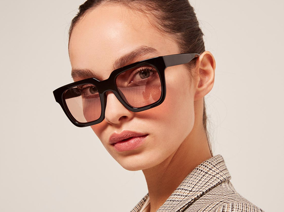 Carla Colour Recycled Jarvus  Glasses  $220