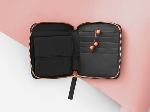 The Square Zip  Wallet  $98