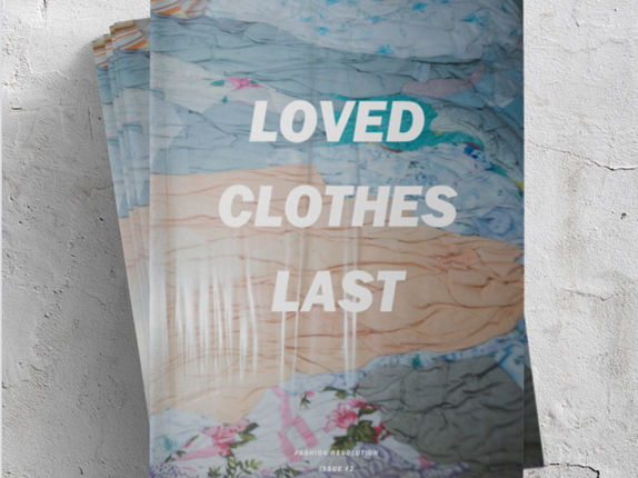 Fashion Revolution Loved Clothes Last  fan zine  £15.00