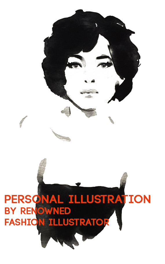 Your Portrait  Illustrated by Mats Meyer starting at $300