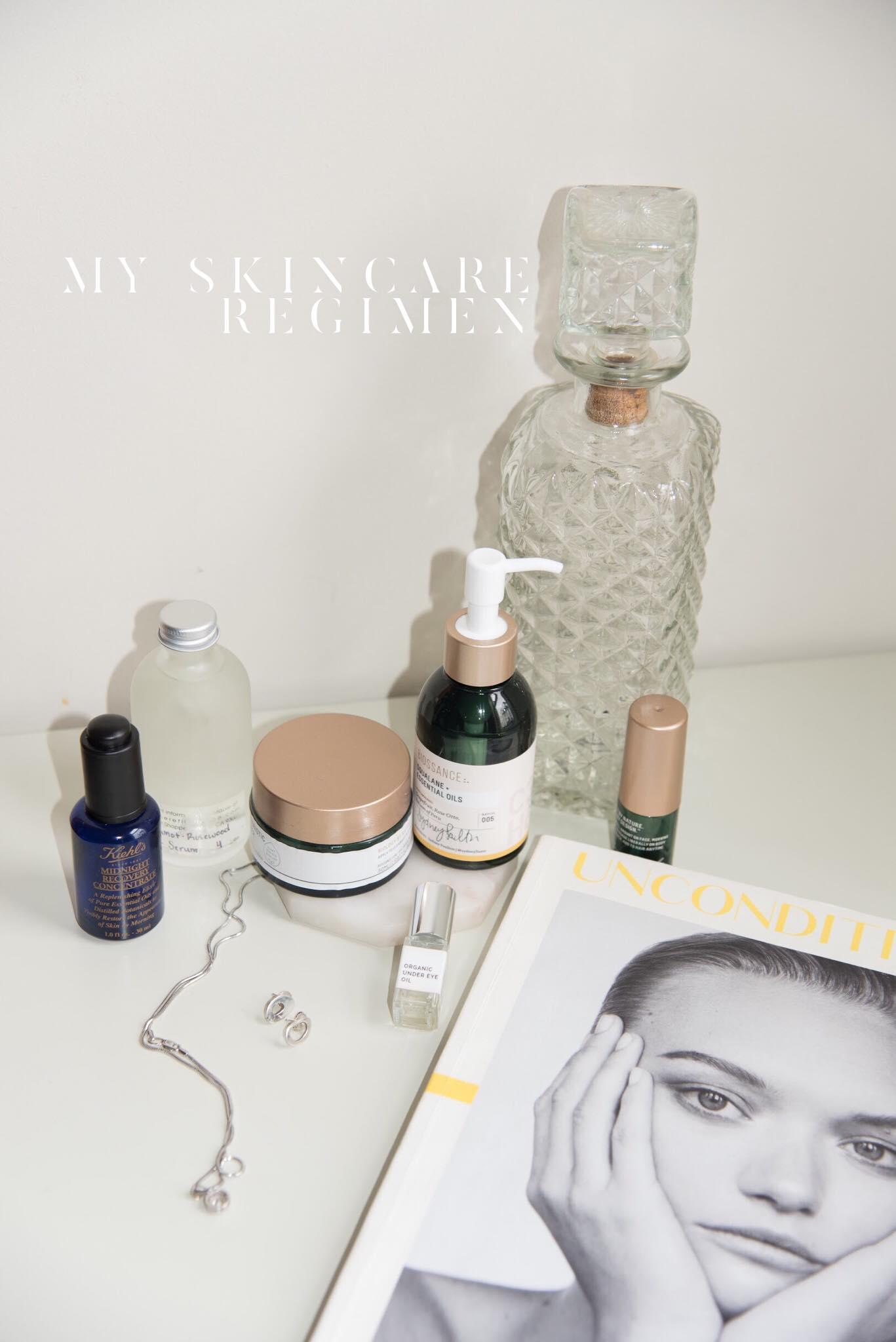 my winter skincare regimen