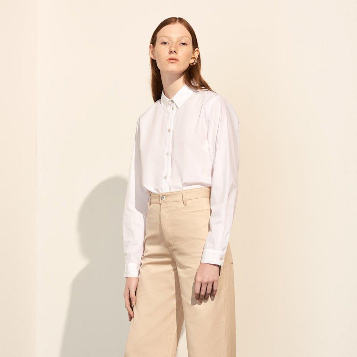 Kowtow Classic White Shirt $173