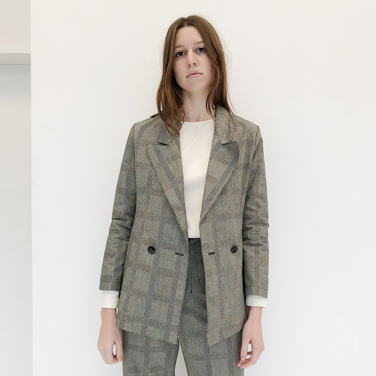 Laurs Kemp Glen Plaid Donna Blazer $280
