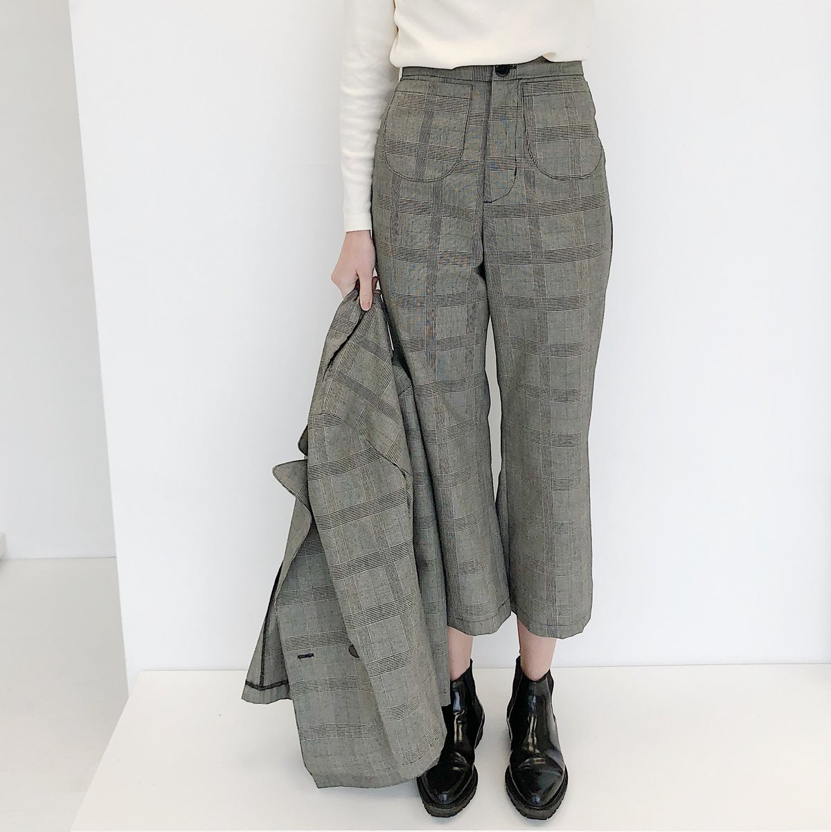 Laurs Kemp Glen Plaid Cassidy Pant $280