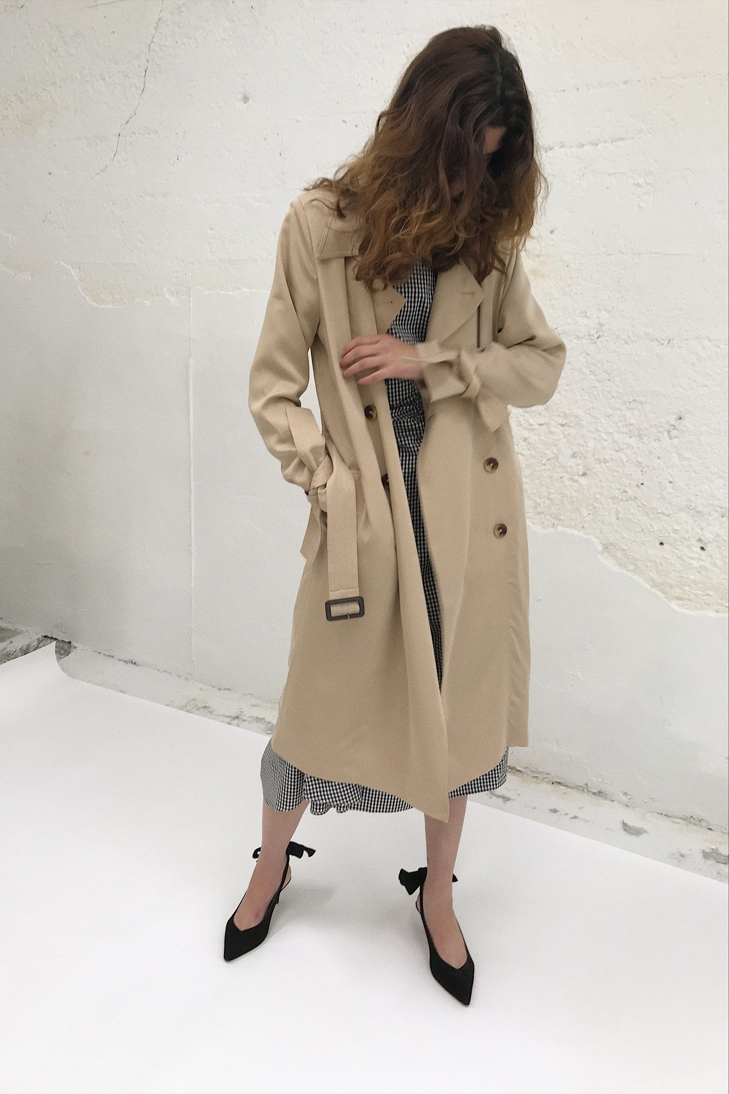 For a classic lady   Just Female trench coat from Lisa Says Gah $210