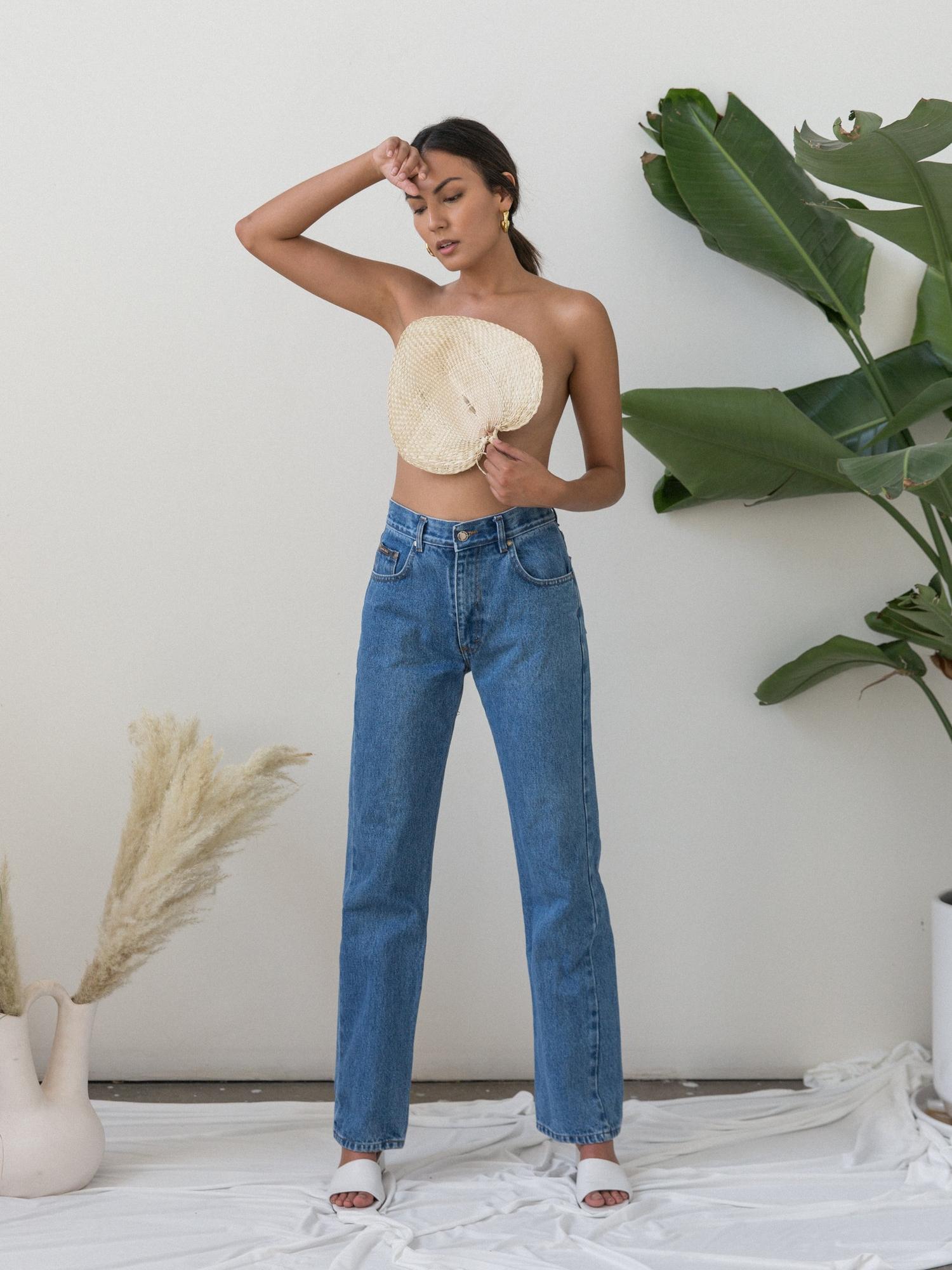 For a vintage lover   VINTAGE HUGO BOSS HIGH RISE JEANS from Shopgirl LA $52