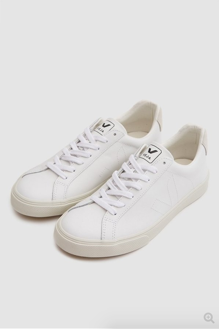 For me. Ok. You can have it too.   VEJA ESPLAR SNEAKER - WHITE ON WHITE from Garmentory $125.00