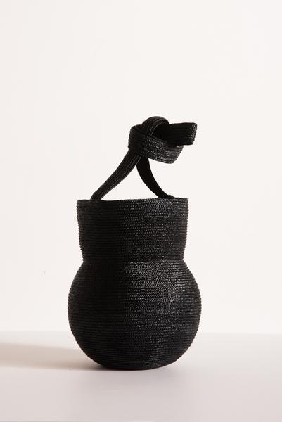 For Sunday promenade   SAMUJI Vasella Bag in Black from OROBORO $230.00