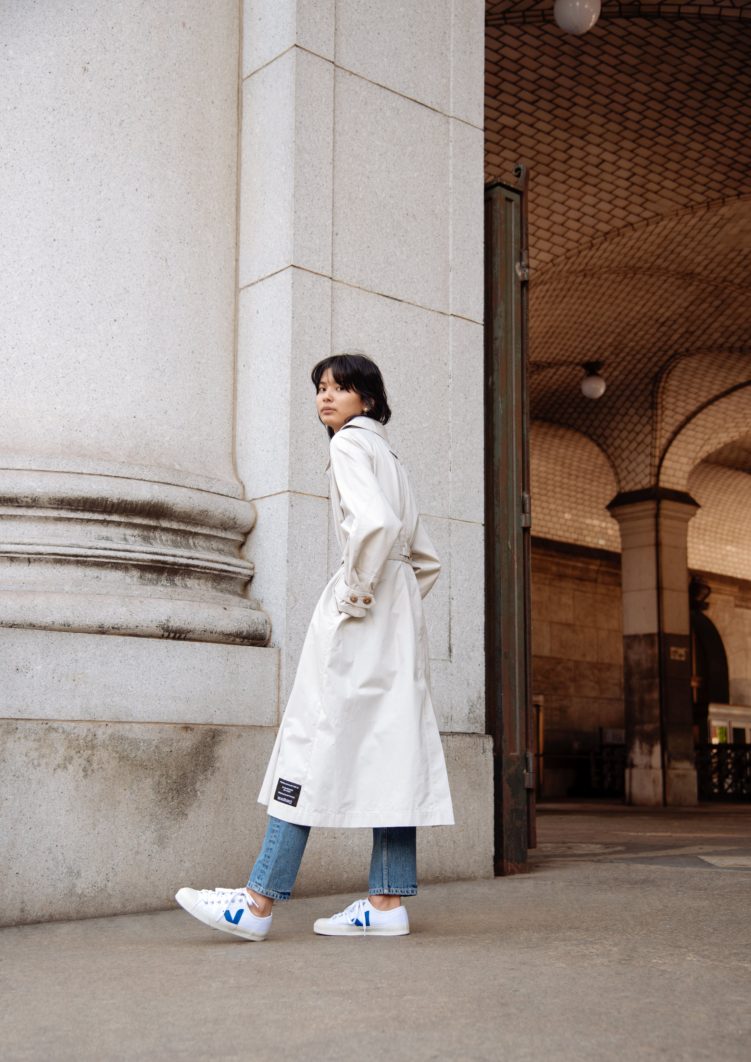 Fall Essentials fashion editorial for Atelier Doré
