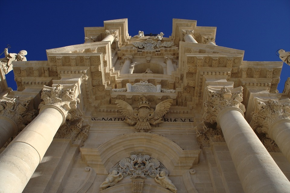 Sicily, the Eastern Cliffs - Siracusa Cathedral.jpg