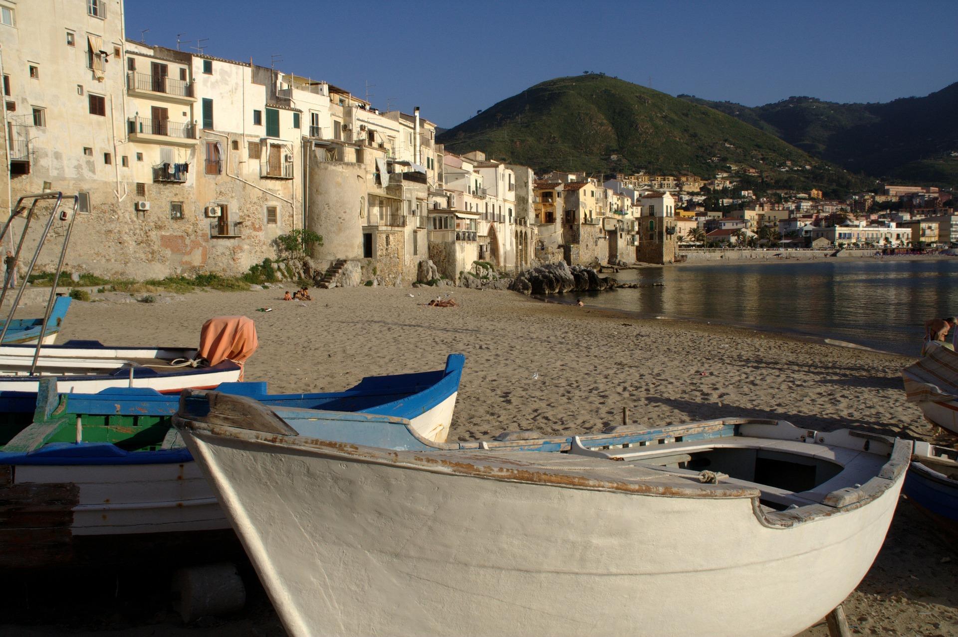 Sicily, the Eastern Cliffs Cefalu.jpg