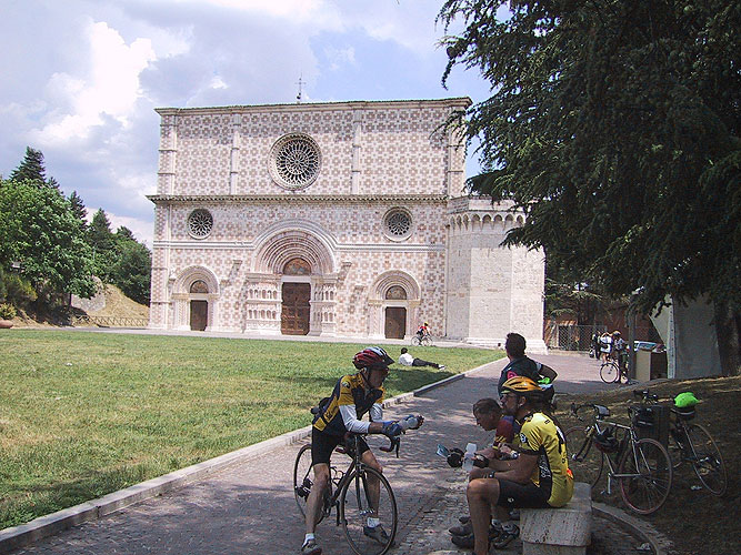 Cycling for Peace - collemaggio.jpg