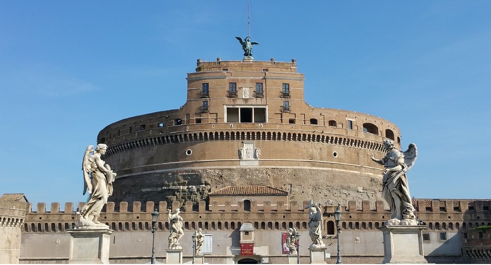 Main and Thumb Cycling for Peace - Castel Sant'Angelo.jpg