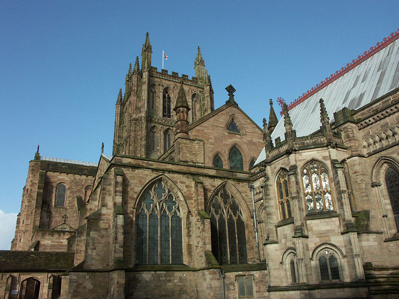 1 Hereford Cathedral Wiki public domain.JPG