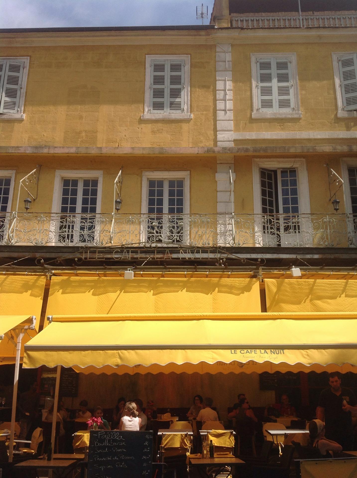 Arles Cafe, Van Gogh painting.jpg