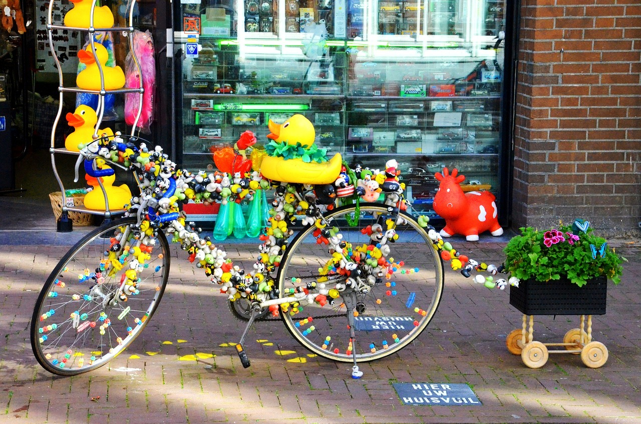 Amsterdam bikes and flowers.jpg