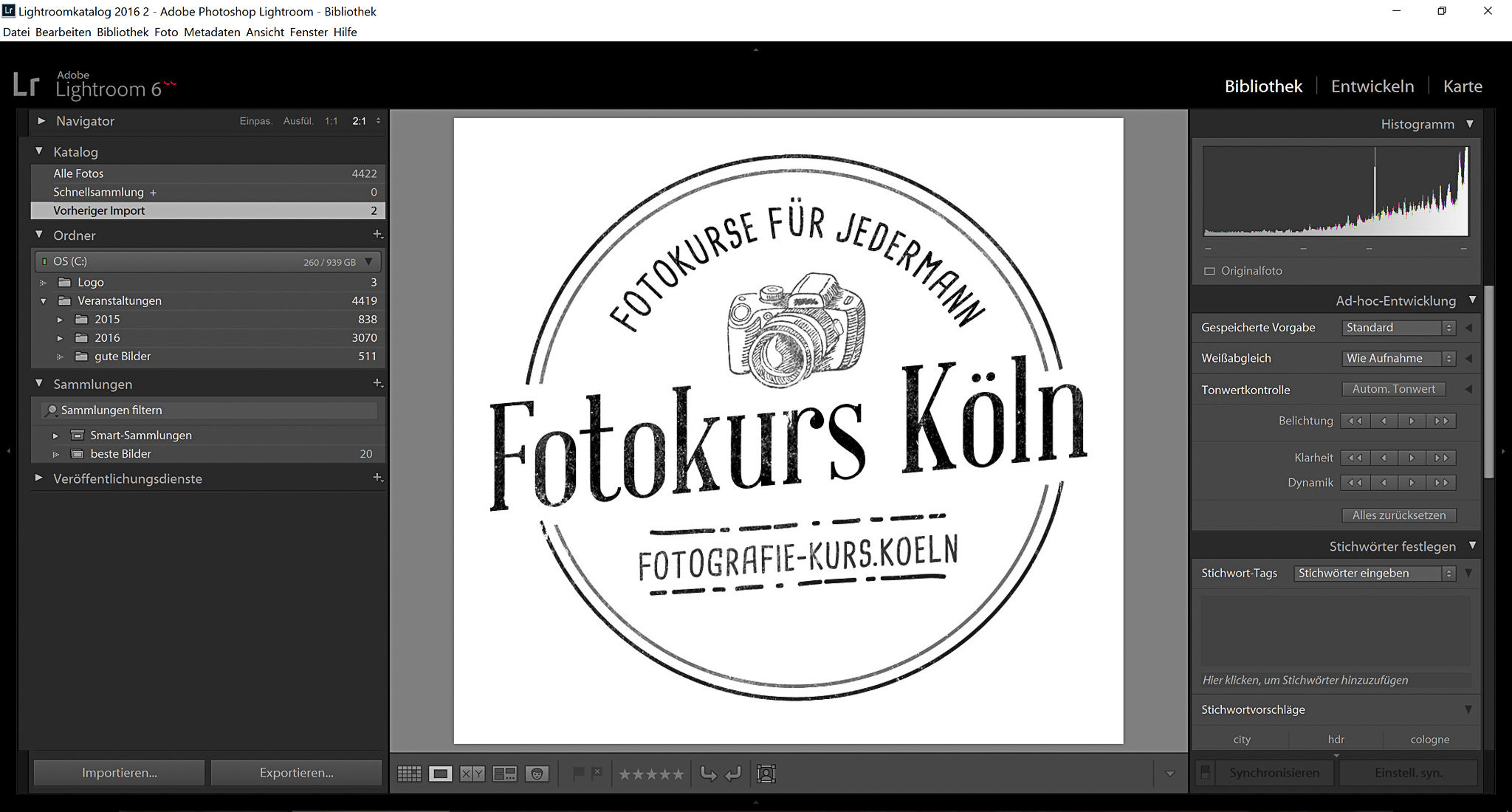 Lightroom Kurs Image