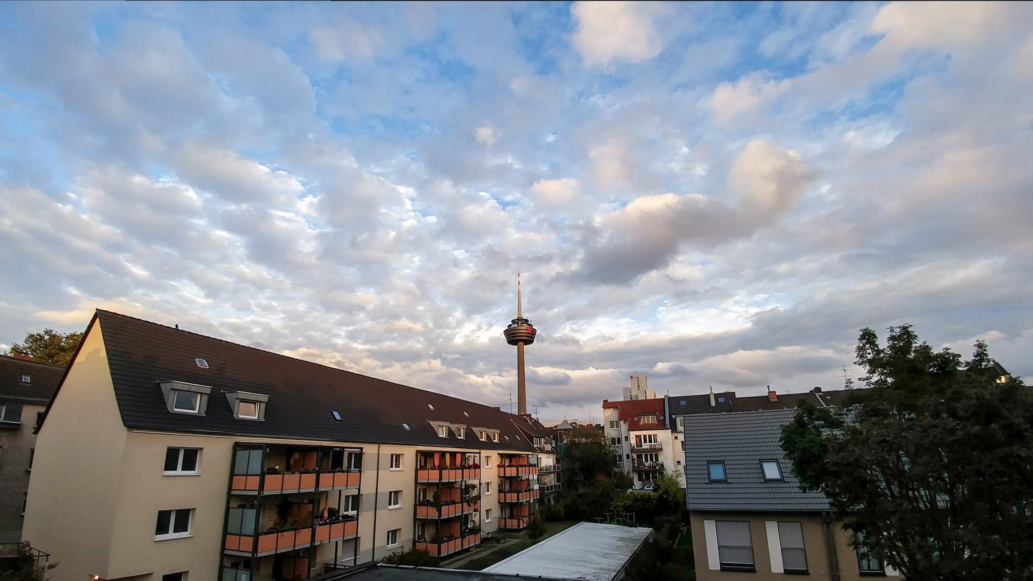 Bild vom Colonius in Ehrenfeld mit der Handykamera LG G5