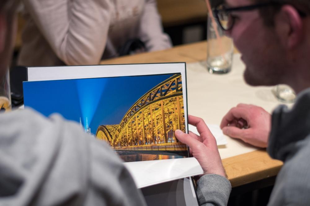 Immer wieder ein beliebtes Motiv - Die  Hohenzollernbrücke und er Kölner Dom