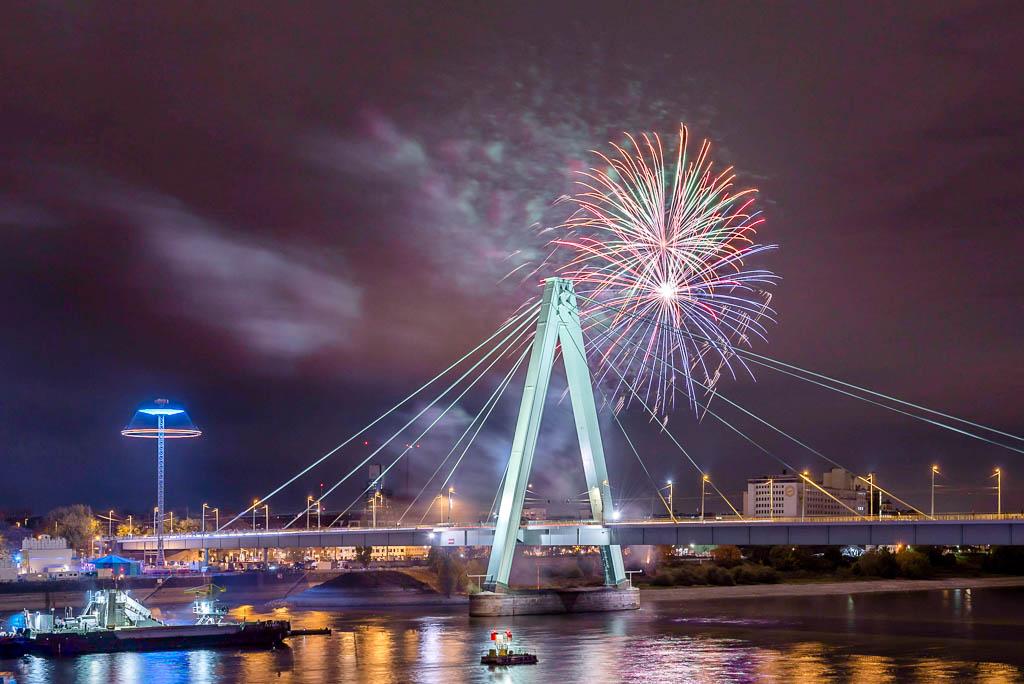 Feuerwerk Deutzer Kirmes 2016