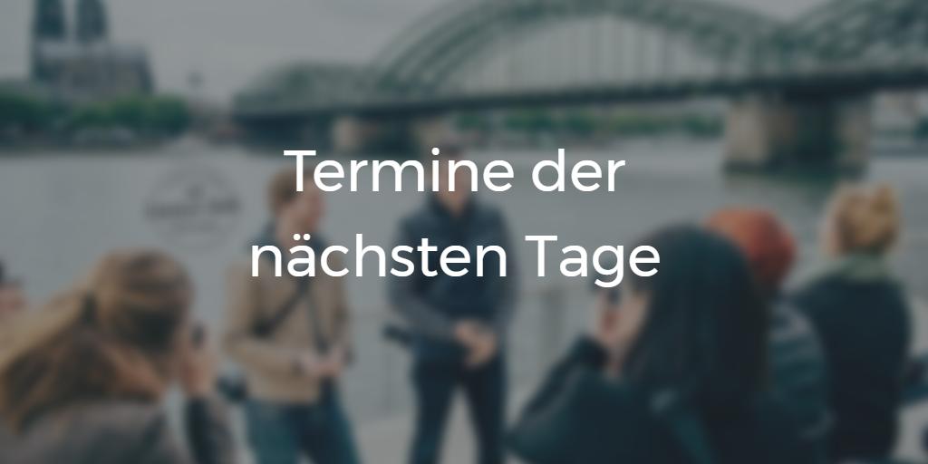 Termine Fotokurs in Köln mit Photowalks und Treffen in Köln Deutz