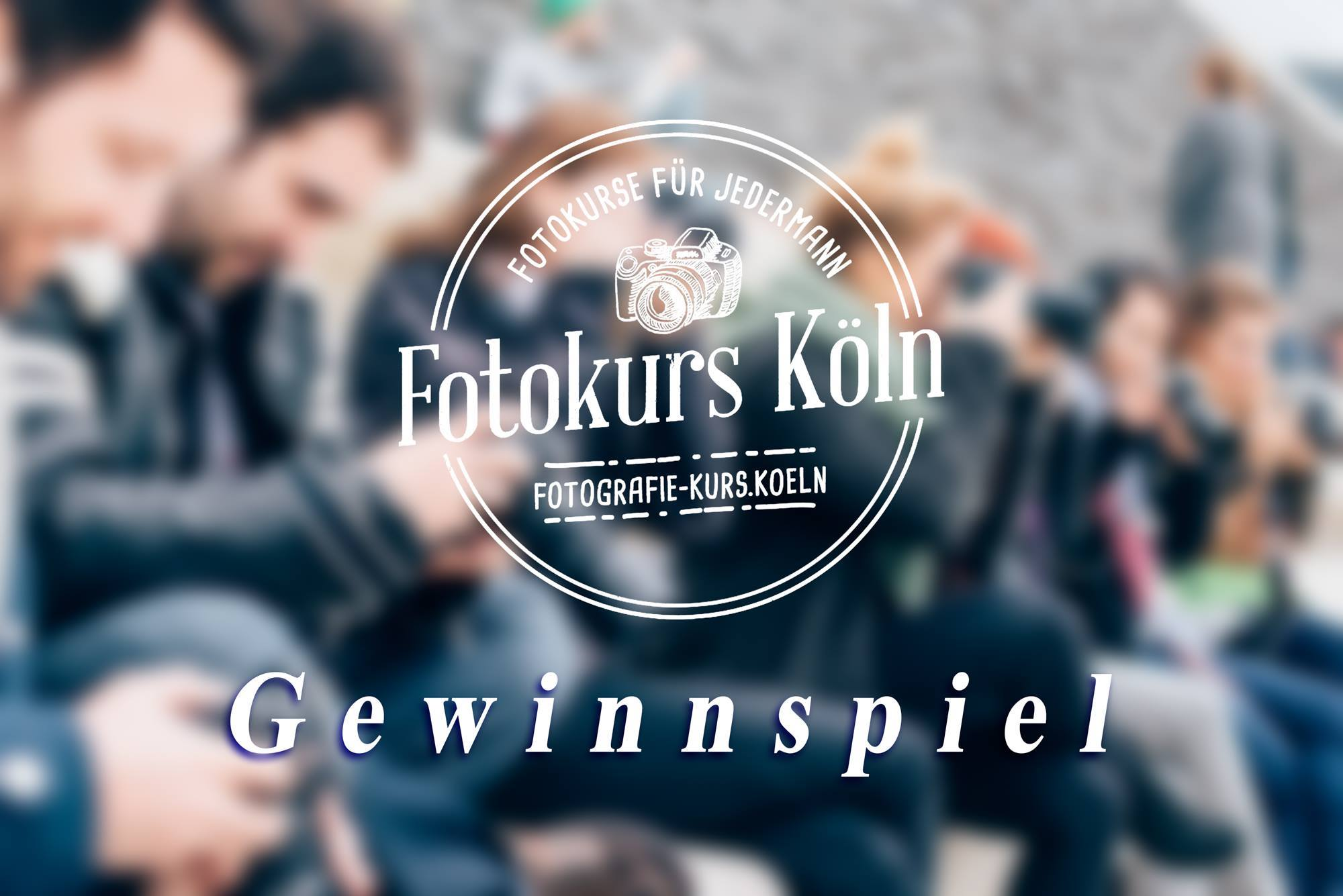 Gewinnspiel Fotokurs in Köln