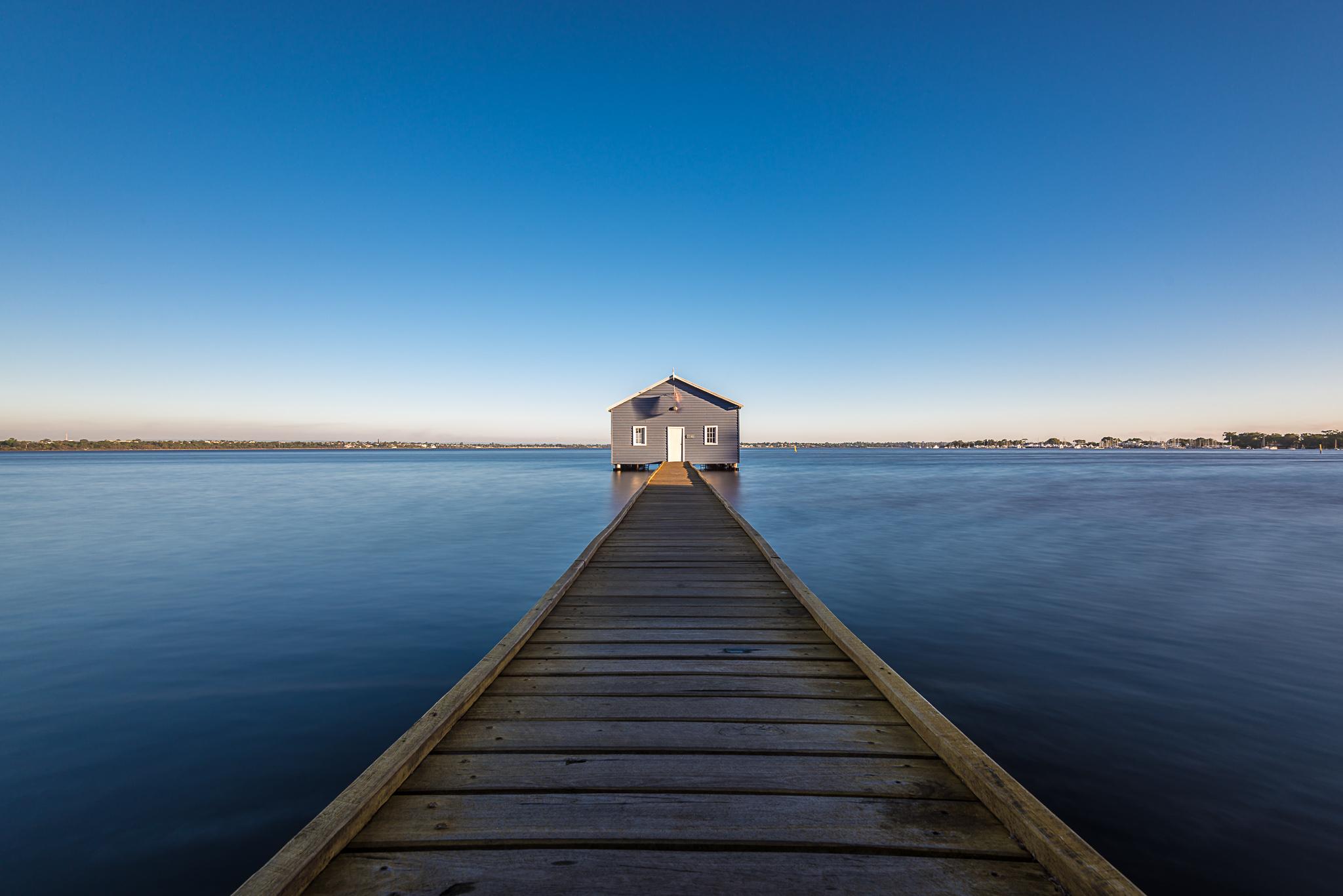 Blaues Haus Perth