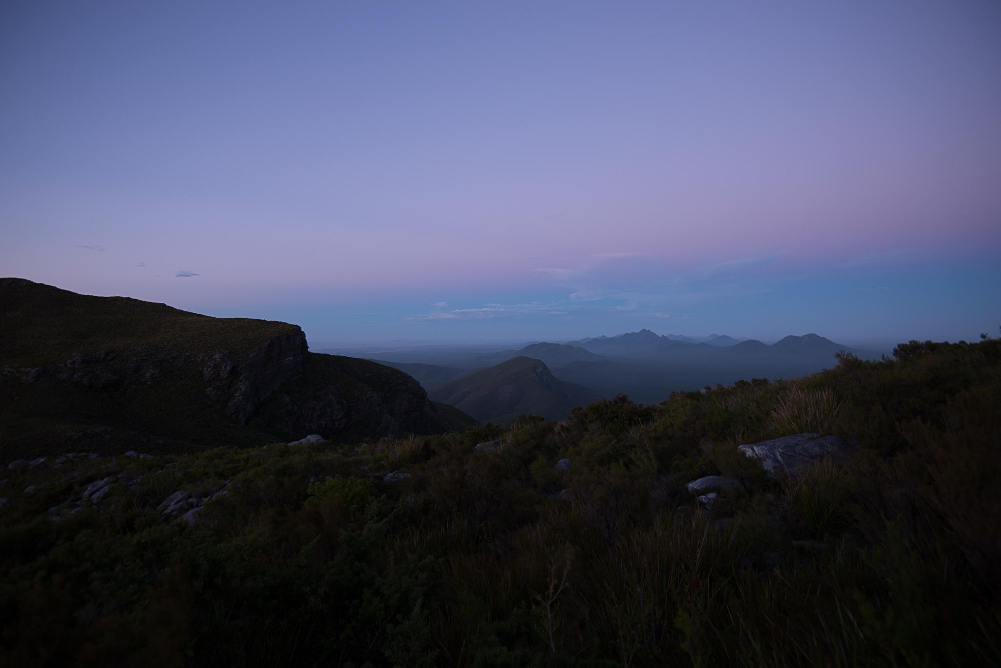 Sonnenaufgang Bluff Knoll