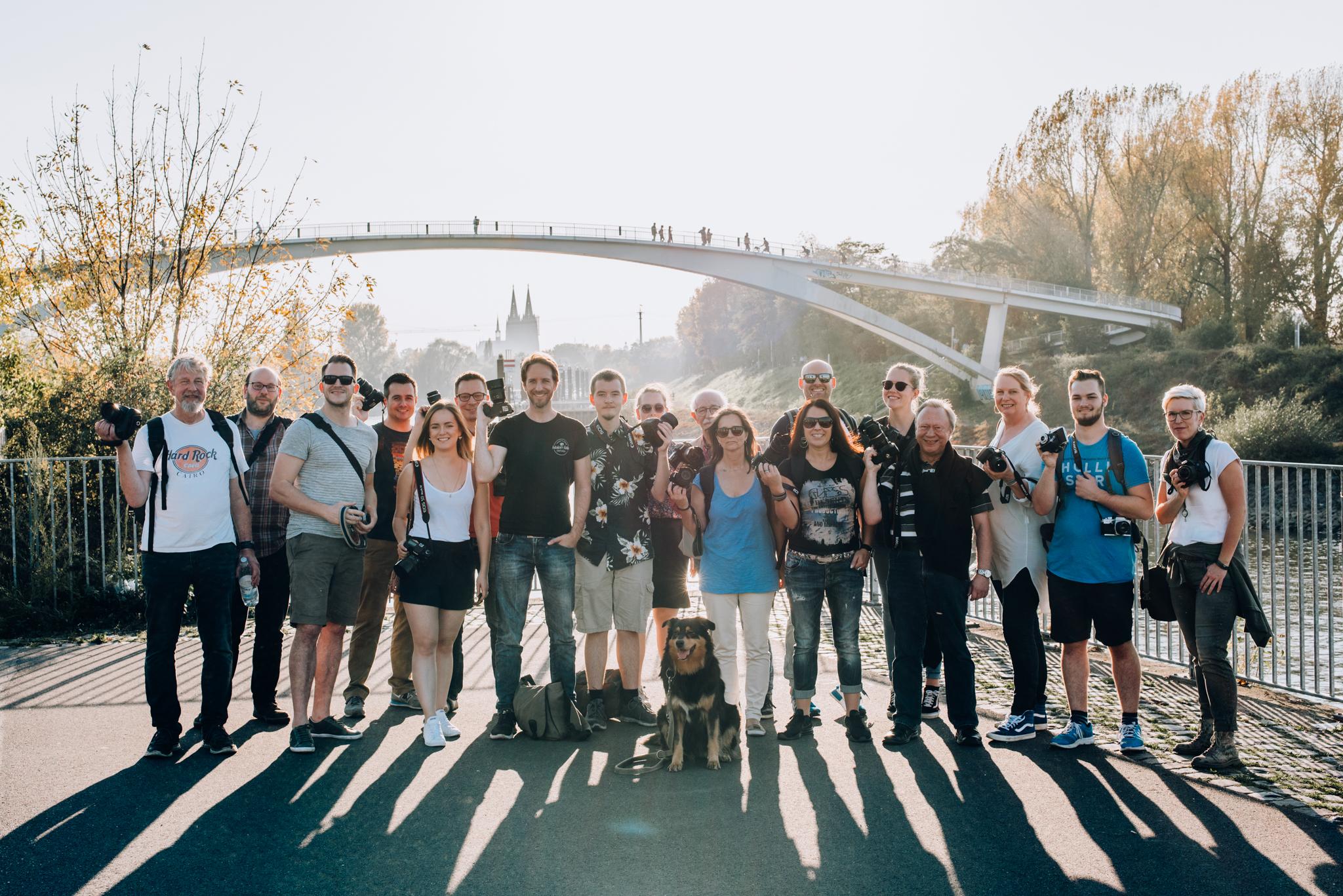Gruppenbild Photowalks Köln 2017