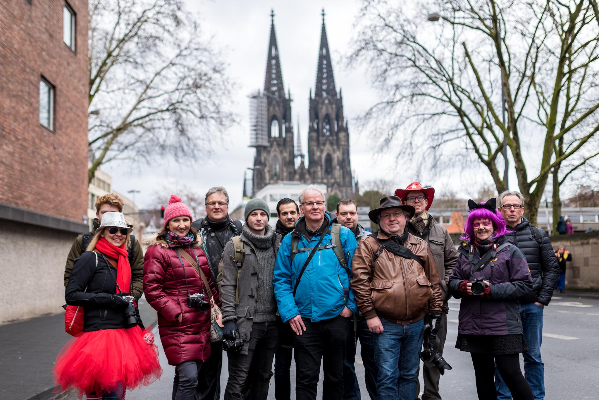 Gruppenbild Karnevals Photowalk Nummer 12