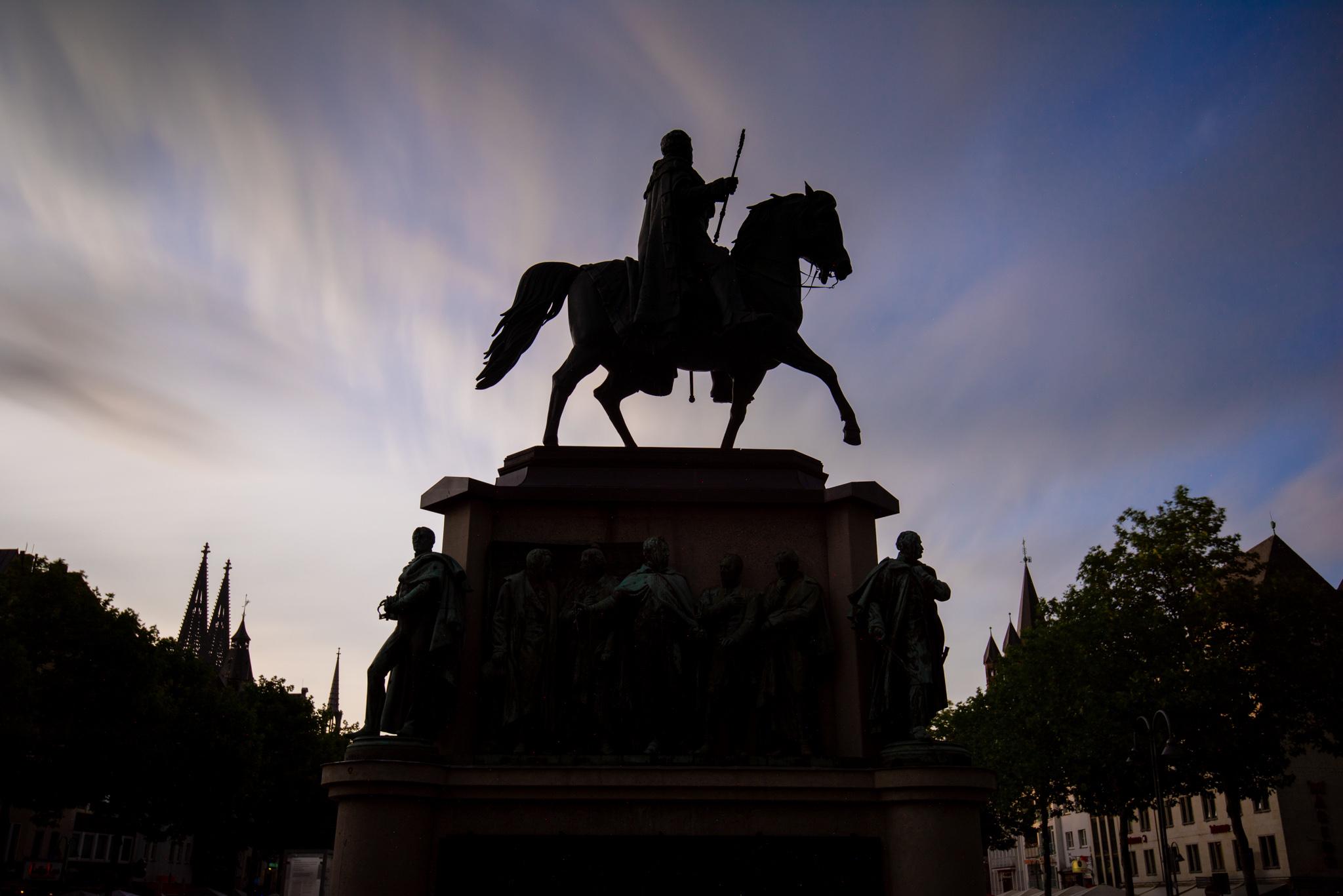 Reiterdenkmal Köln