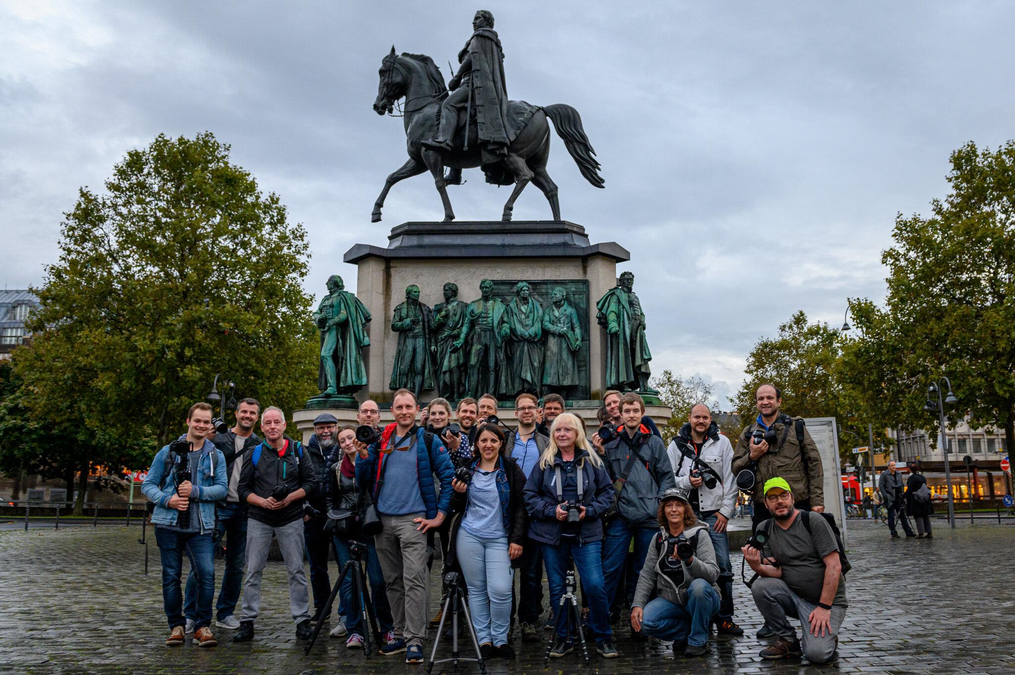 28. Photowalk - Altstadt - Regen in Köln - Gruppenbild