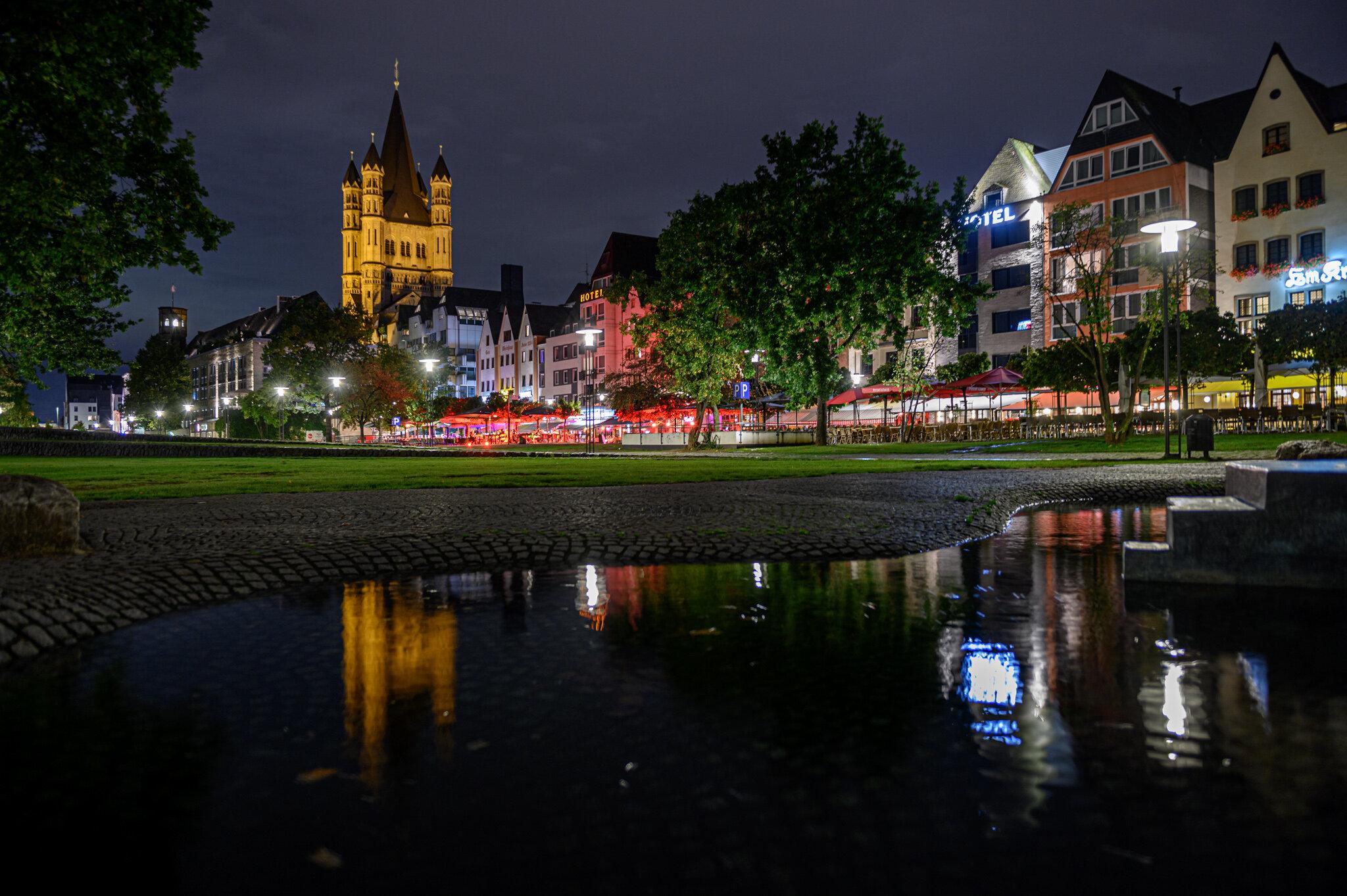 28. Photowalk - Altstadt - Regen in Köln