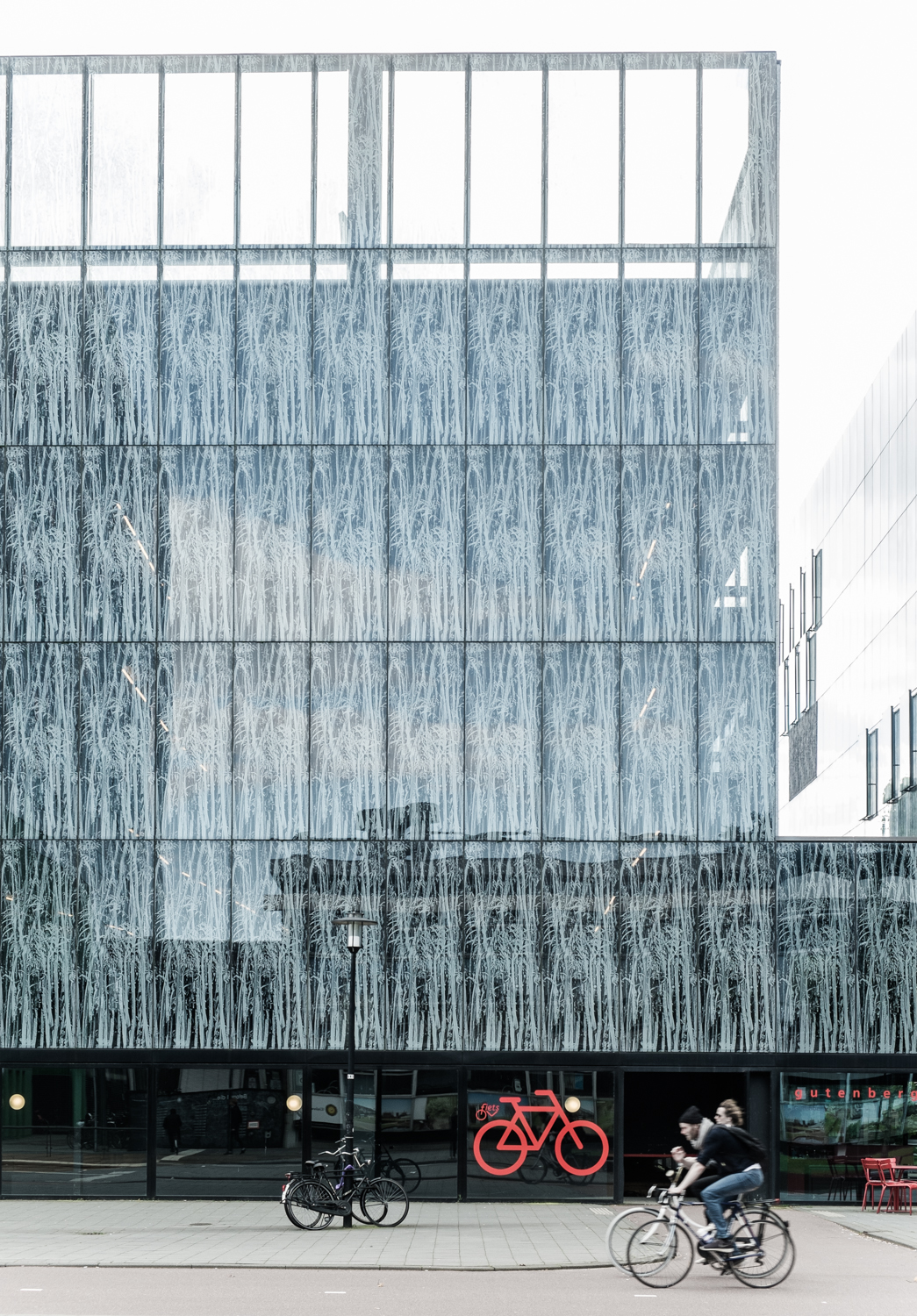 Facade #2: University Library Ubu by Wiel Arets Architects