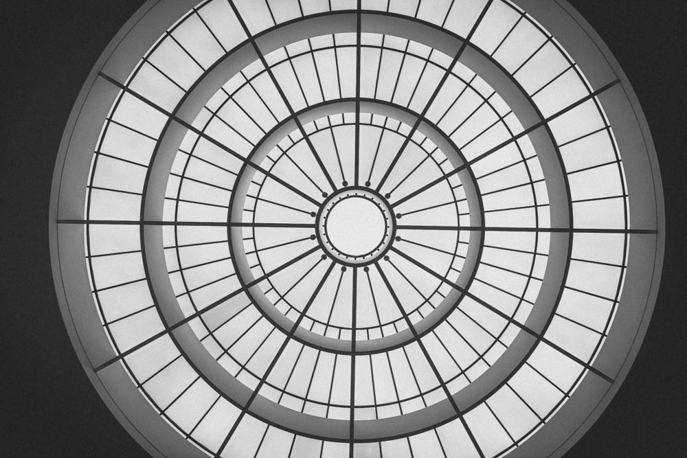 Skylight of Pinakothek museum.