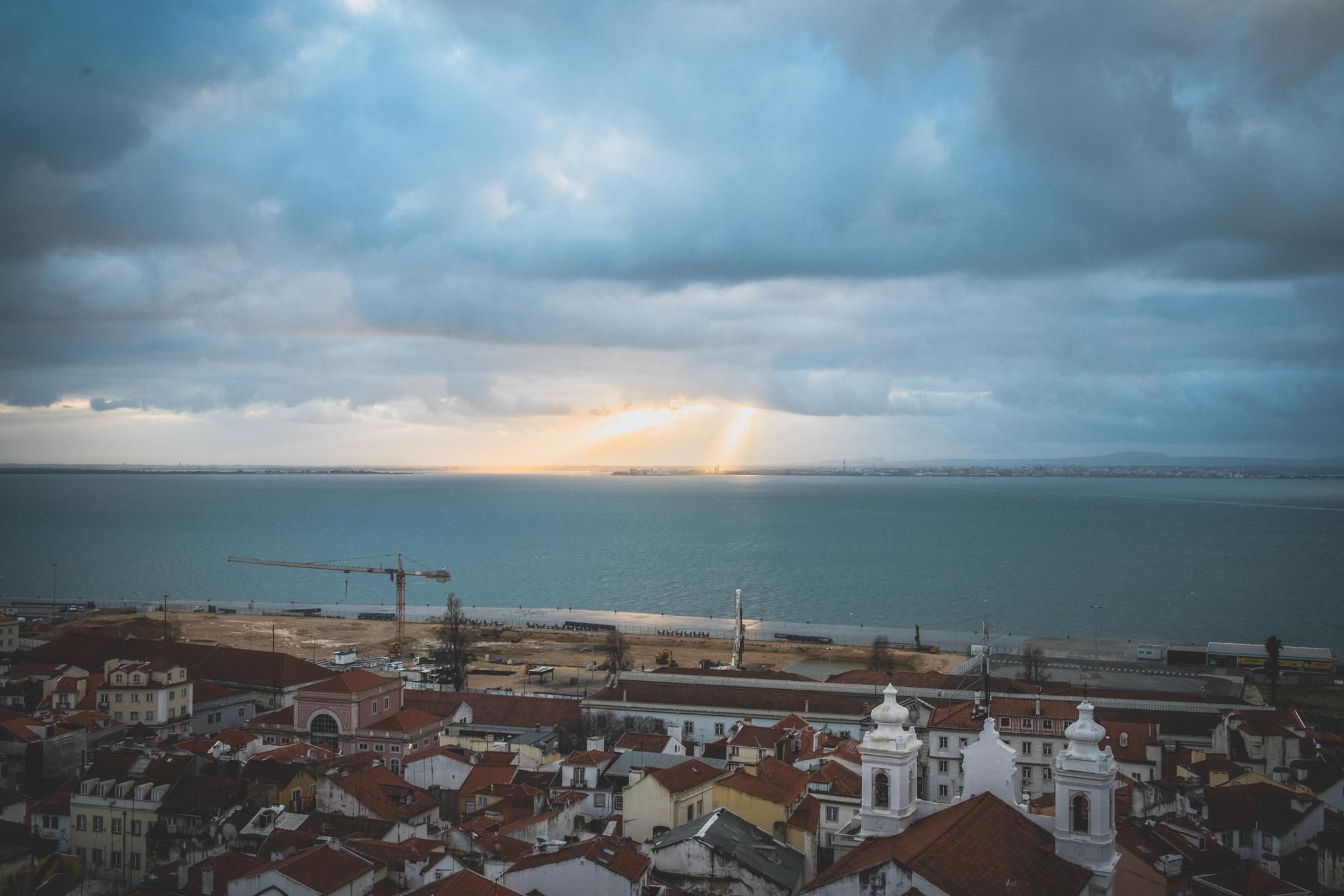 Sunrise in Lisbon