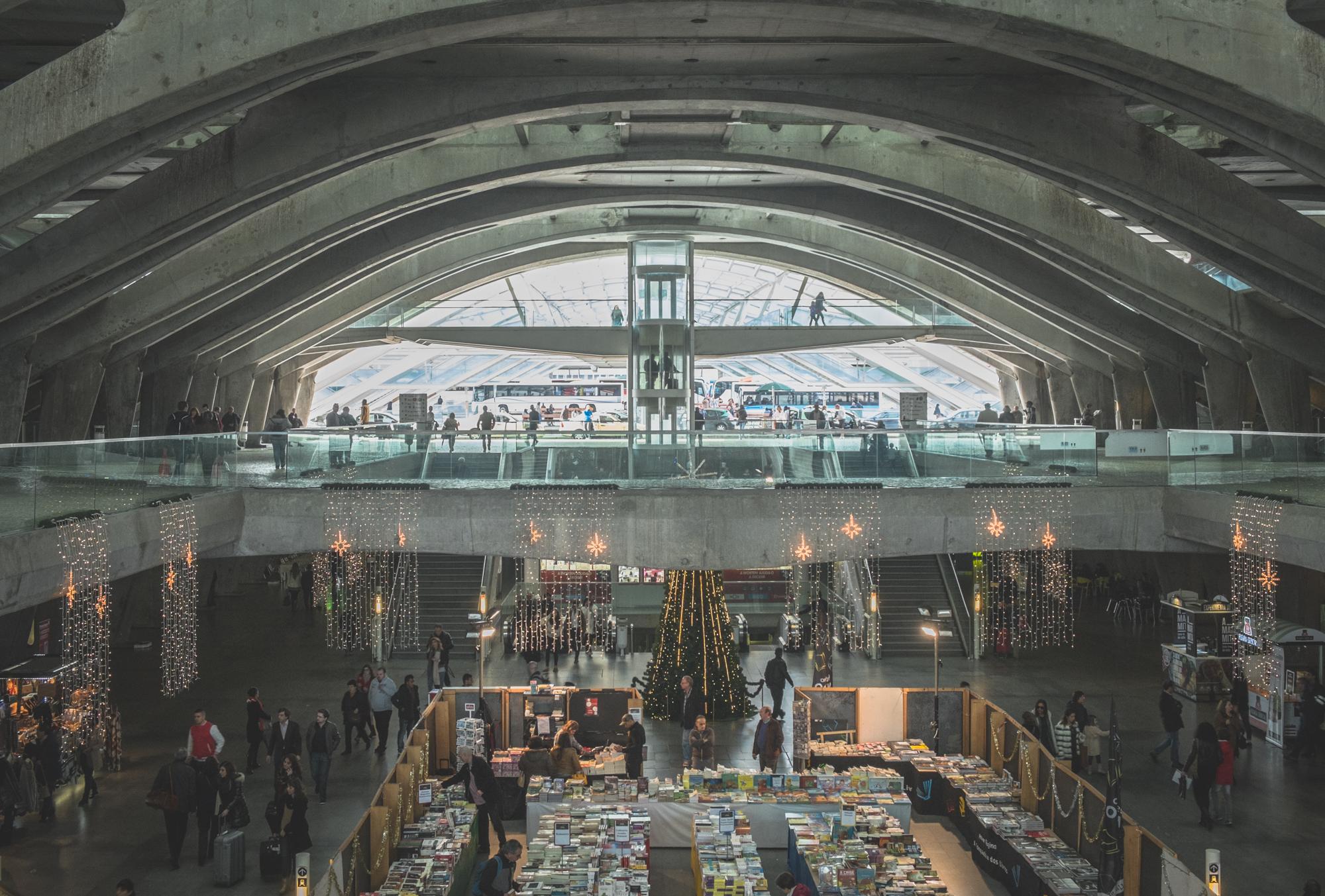 Calatrava's Garo do Oriente Station
