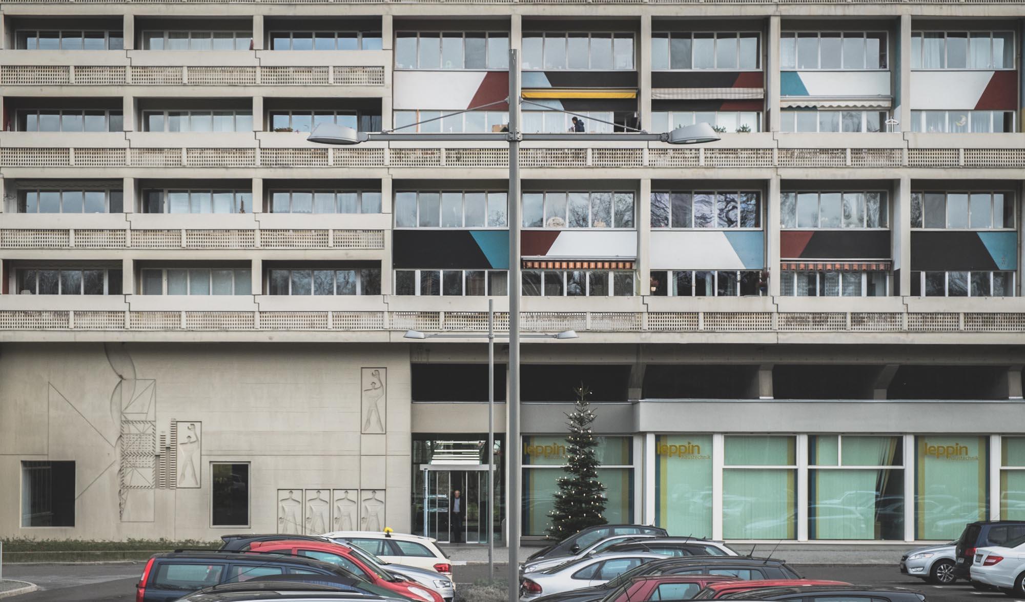 Unite d Habitation by Le Corbusier