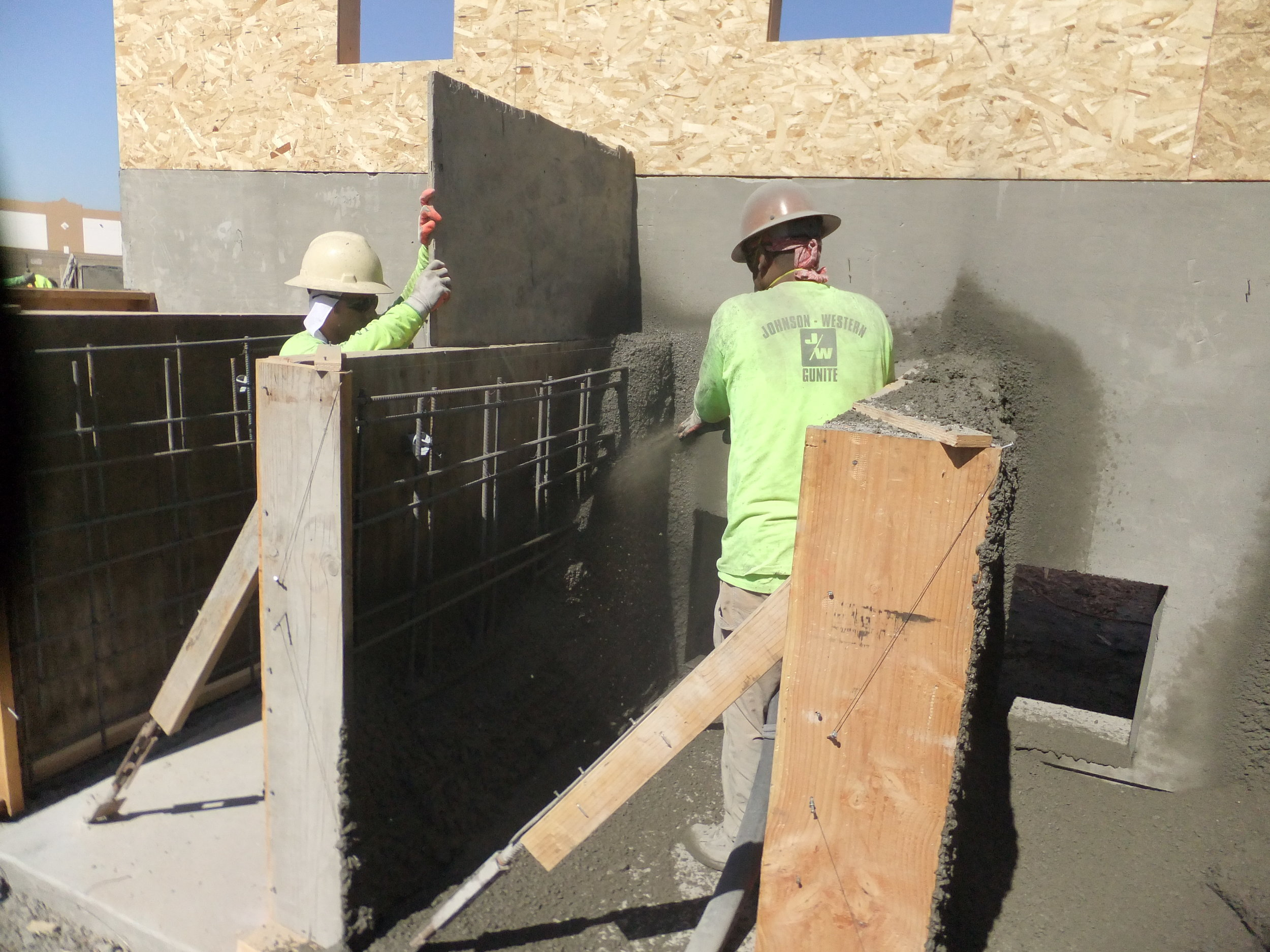 Shotcrete Kennel Construction