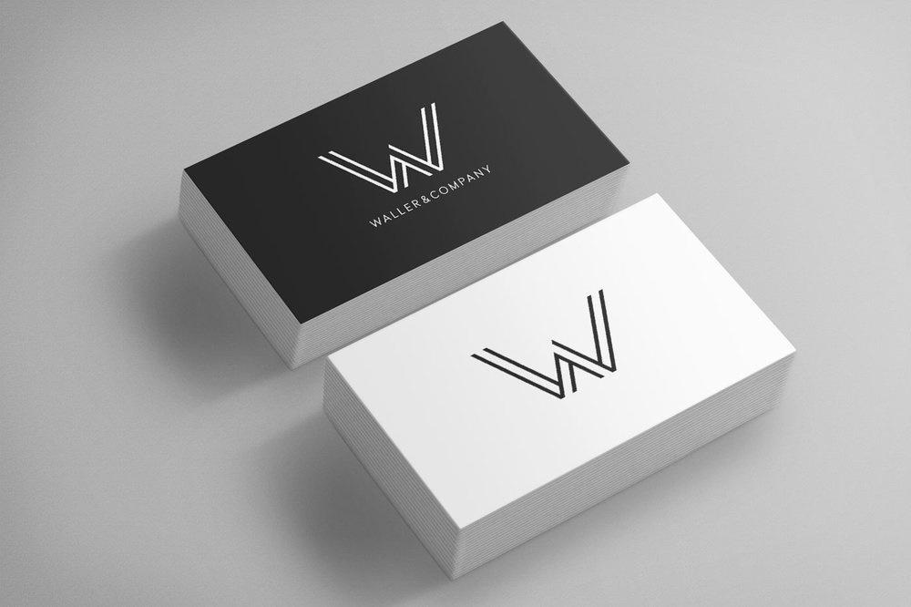 Waller and Company Card Mockup